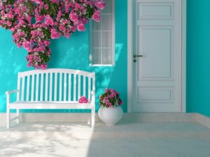 front porch. boost curb appeal, spruce up your front deck