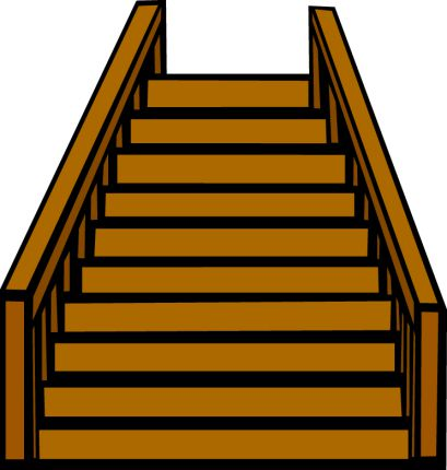 deck steps. wood decking. deck buiding
