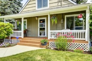 front porch steps. safety tips of front porches. front deck