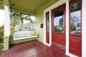 front porch safety tips. front deck safety. maintain front decks