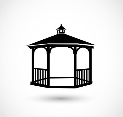 gazebo refinish. renovate gazebo. gazebo maintenance