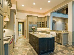 kitchen flooring. types of kitchen floor. stone tile floor
