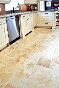 kitchen flooring. types of kitchen floor. ceramic floor
