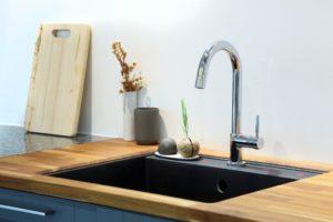 kitchen sink, ceramic kitchen sink