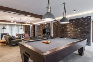 man cave. basement ideas for remodeling the basement.