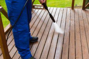 power washing, refinish deck, repair deck, deck restore
