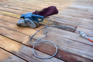 power washing, how to refinish a deck