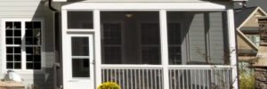 screened porch. convert deck
