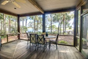 screened porch. convert deck. build screened porch