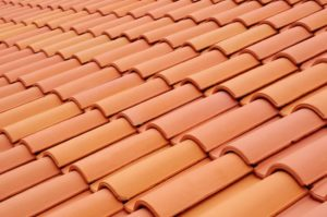 roofing material. ceramic roof shingles. new roof