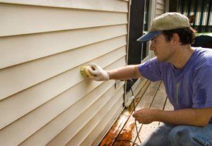 vinyl siding. clean vinyl siding. remove mildew and mold