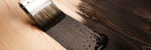 wood stain. wood paint. staining wood