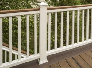 deck baluster designs, composite decking, deck building
