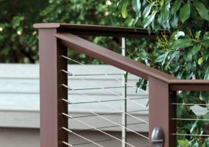 deck balusters, cable railings, railing design trends