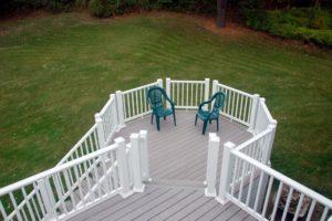 buy composite decking, install composite deck baords, composite railings