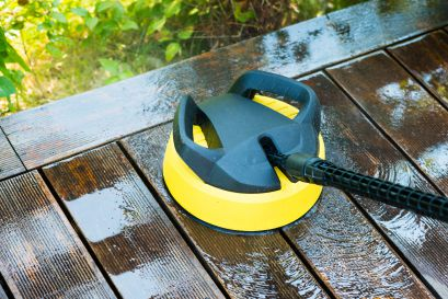 deck cleaning, safe deck cleaning, deck wash