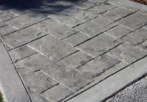 pavers, stone driveway, concrete driveway