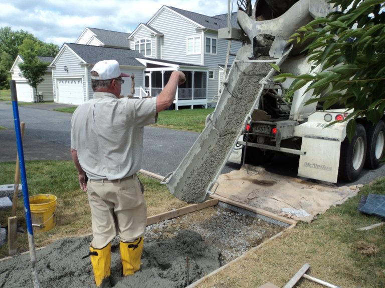 professional concrete company, stamped concrete contractor