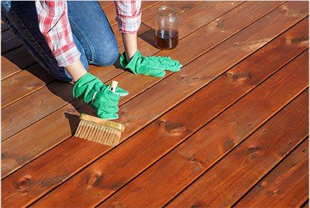Deck Staining and Refinishing