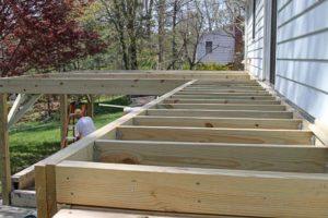 deck building. building a deck. important tips about deck building