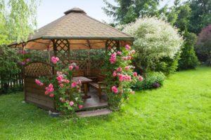 backyard gazebo, wooden gazebo