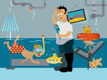 basement waterproofing. prevent mold and mildew in basement