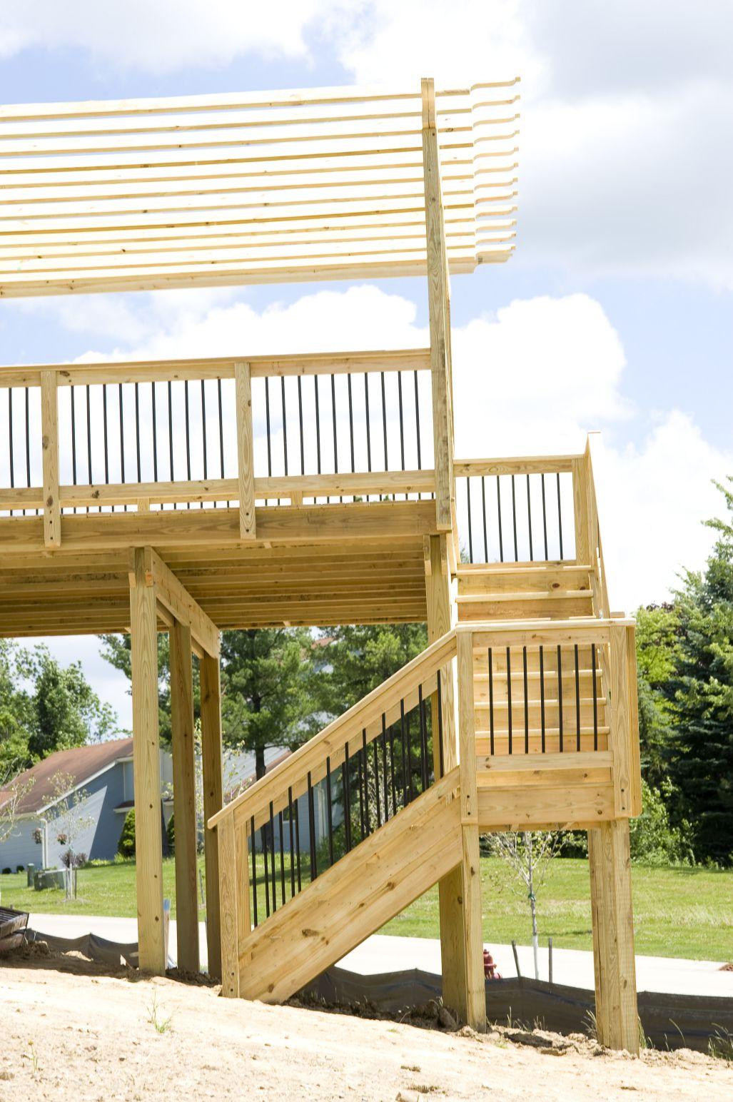 deck posts, deck safety, deck inspection