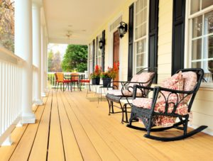 front porch safety tips. maintain front deck. deck safety tips
