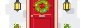 holiday decorations, outdoor Christmas decor