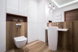 bathroom sink. modern bathroom design. pedestal sink