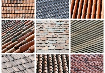 roofing material. types of shingles for new roof