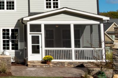 screened porch. convert deck