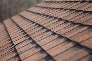 roofing material. asphalt roof shingles. new roof