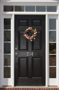 transom, sidelights, front door design