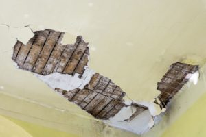 water damage, causes of water damage, rotting, collapsing walls