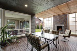 covered deck, outdoor living trends, deck design
