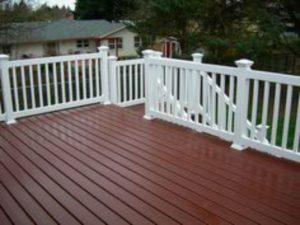 deck colors, new deck colors, red deck stain