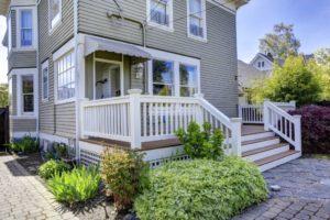 deck landscaping, composite deck, build a deck