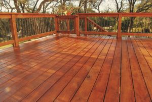 deck staining, transparent wood stain, stain a deck, deck painting