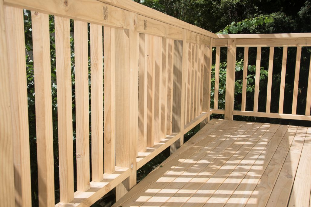 parts of a deck, knowing decking terms, deck building