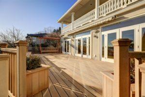 new composite deck, pvc decking, deck cost