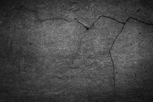 Asphalt stain on concrete