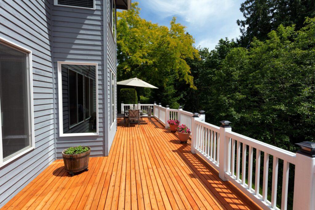 wood decking board
